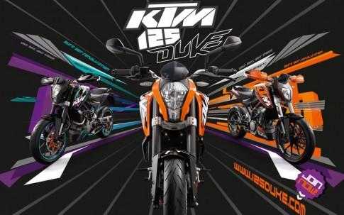 KTM Duke 125 sắp ra mắt tại VN.
