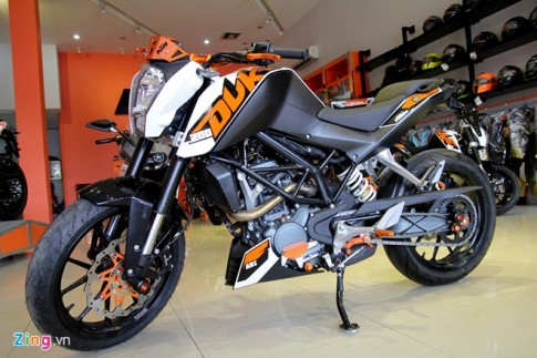 KTM Duke 200 2015 Da ha chieu cao danh cho nguoi Viet