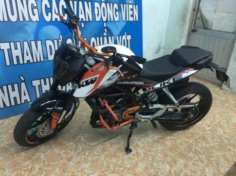 KTM Duke 200 độ nhẹ nhàng của biker Đồng Nai