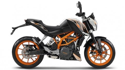 KTM Duke 390 co mat tai My voi gia 4.999 USD