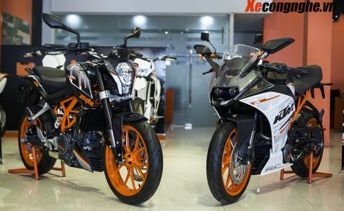 KTM Việt Nam ra mắt RC250 và 250 DUKE với nhiều cải tiến về tính an toàn