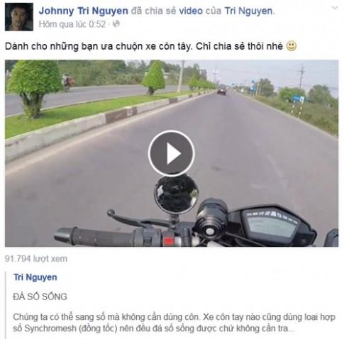 Kỹ thuật đá số sống trên chiếc mô tô PKL cùng Johnny Trí Nguyễn