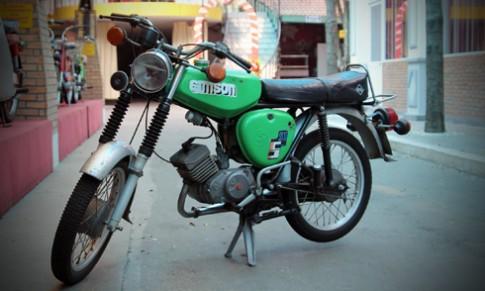 Kỷ vật Simson S51 ở Sài Gòn