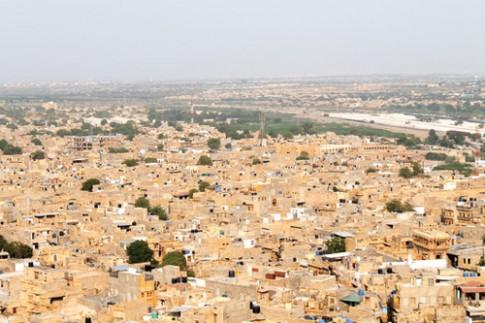Lac vao Jaisalmer xu mo