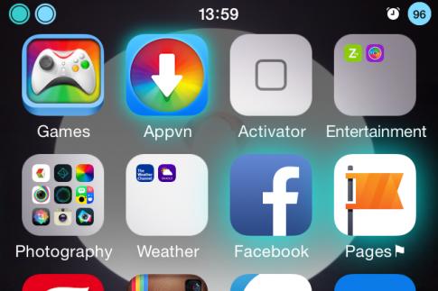 Lam icon phat sang khi co thong bao tren iPhone