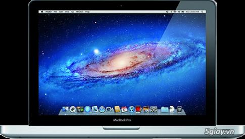 Laptop MacBook Pro - Huyen thoai tu Apple (Ky 1)
