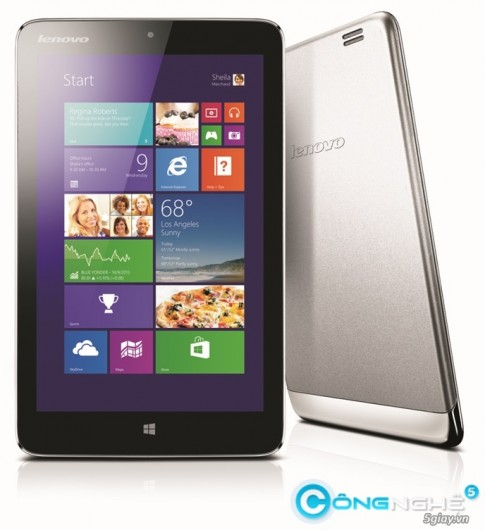 "Lenovo Miix 2: Tablet 8"" chay Windows 8.1 gia tot"