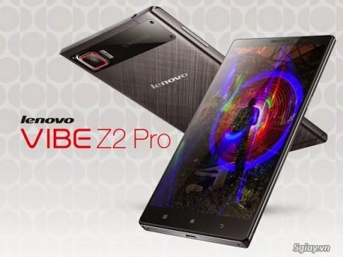 Lenovo Vibe Z2 Pro ra mắt: thiết kế kim loại, pin dung lượng cao