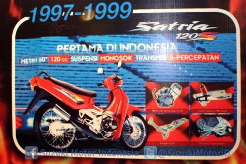 Lịch sử dòng xe Satria của Suzuki qua các thời kỳ