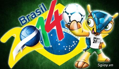 Lịch thi đấu vòng Tứ kết World Cup 2014 cập nhật chi tiết mới nhất
