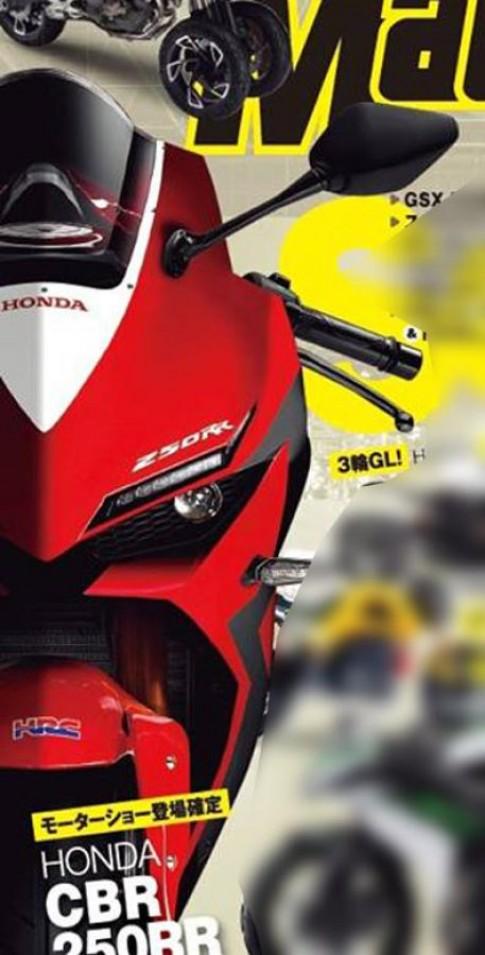 Lộ ảnh Honda CBR250RR trên tạp chí xe Nhật Bản