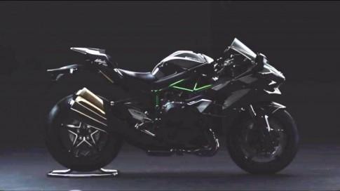 Lộ ảnh siêu môtô Kawasaki Ninja H2 phiên bản sản xuất