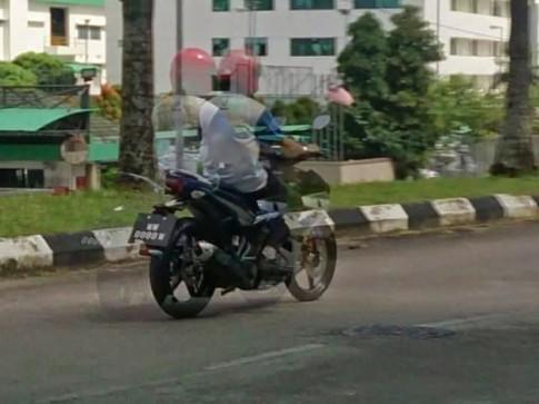 Lộ hình ảnh đầu tiên về dòng xe mới của Yamaha trên đường chạy thử