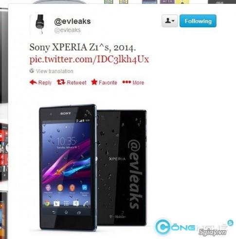 Lo hinh Sony Xperia Z1s 2014