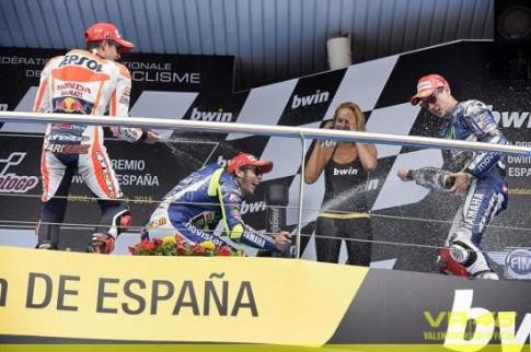 Lorenzo da xuat sac co chien thang dau tien tai MotoGP 2015