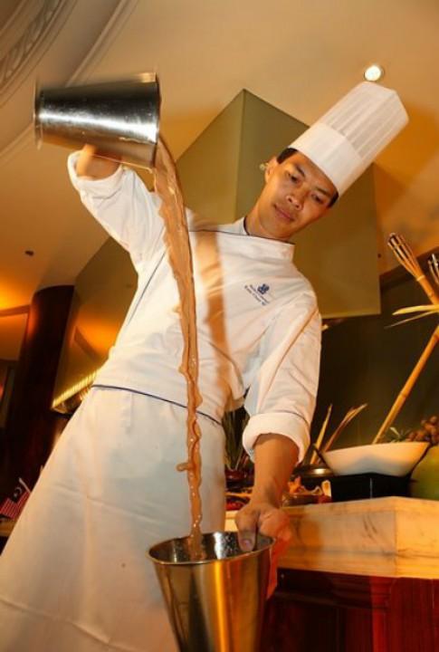 Malaysia bieu dien tra 'keo' tai Ha Noi