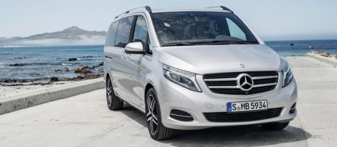 Mercedes-Benz trinh lang xe gia dinh 8 cho ngoi