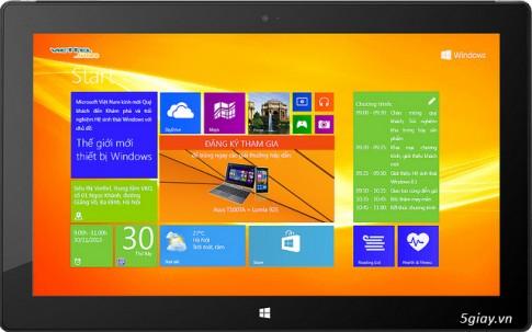 "Microsoft moi tham du su kien ""The Gioi Moi Thiet Bi Windows"" tai HN ngay 30/11/2013"