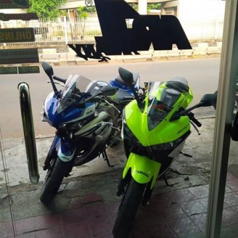 Mot so hinh anh luom lat tren FB ve yamaha R25 cua cac biker ben indo !!