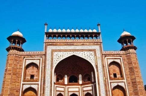 Mot so hinh anh ve Taj Mahal