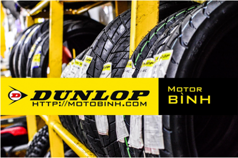 Moto Binh dua vo xe may Dunlop den gan voi nguoi tieu dung Viet
