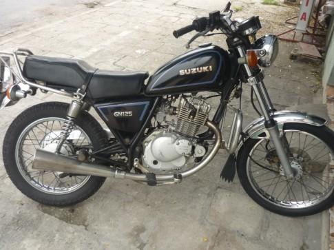 Moto suzuki gn125, gn 125