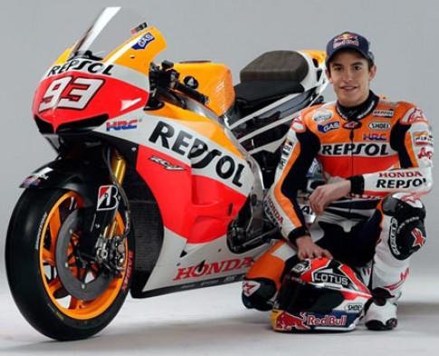 MotoGP 2013 - mua giai cua rieng Marquez