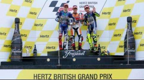 MotoGP chang 12 Hertz British Grand Prix: Tiec cho Jorge Lorenzo