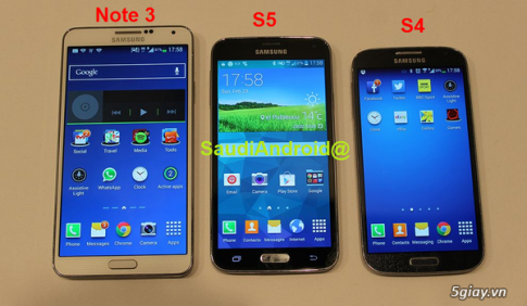 [MWC 2014] Galaxy S5 lo anh chinh thuc