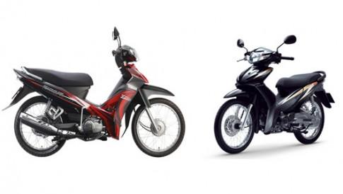 Nen mua Honda Wave S hay Yamaha Sirius?
