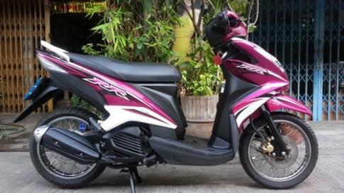 Ngắm chiếc Mio 125 RR nguyên bản bên Thái