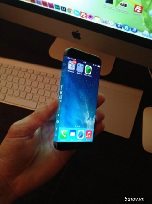 Ngám mãu Concept Iphone 6 hai màn hình dảng cáp