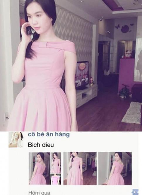 Ngoc Trinh may vay y het Maria Dinh Phuong Anh de ban