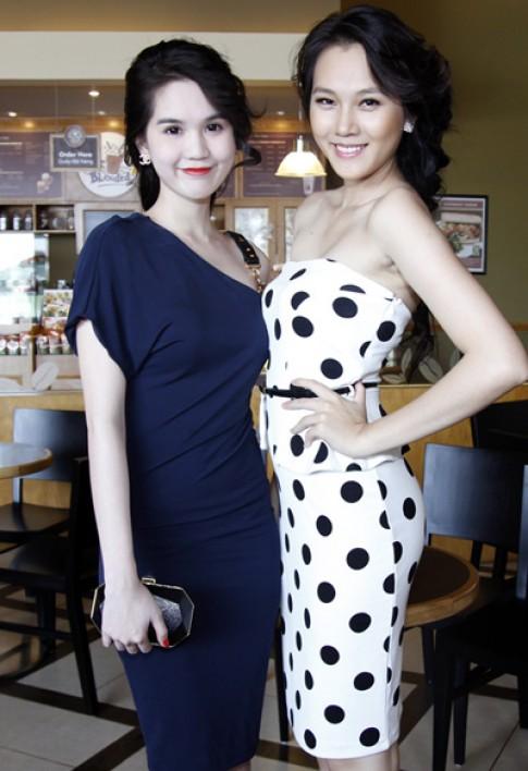 Ngoc Trinh, Ngoc Thach ghi hinh cho 'Dem hoi chan dai 6'