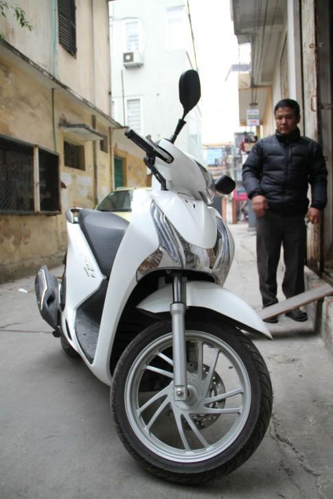 Nguoi dung mat long tin ve chat luong xe Honda SH125i