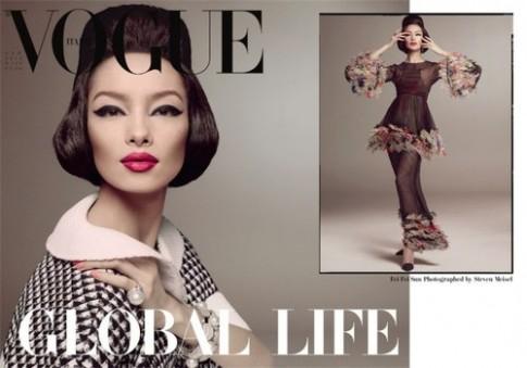 Người mẫu Trung Quốc ấn tượng trên Vogue