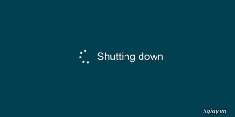 """Nguyen nhan nao khien Windows khong chiu """"Shut Down""""?"""
