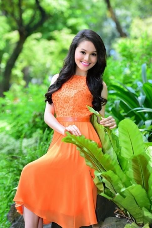 Nhan sac Miss Ngoi Sao 2014 rang ro trong nang