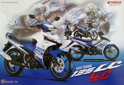 Nhin lai Yamaha LC135 GP 2014 Phien ban cuoi cung cua T135