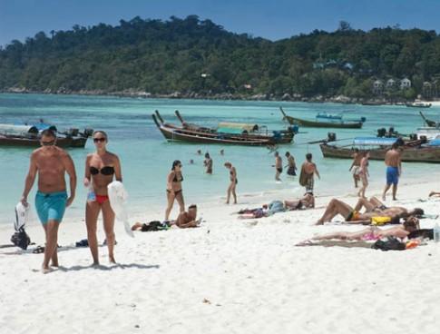 Nhung bai bien quyen ru o Pattaya
