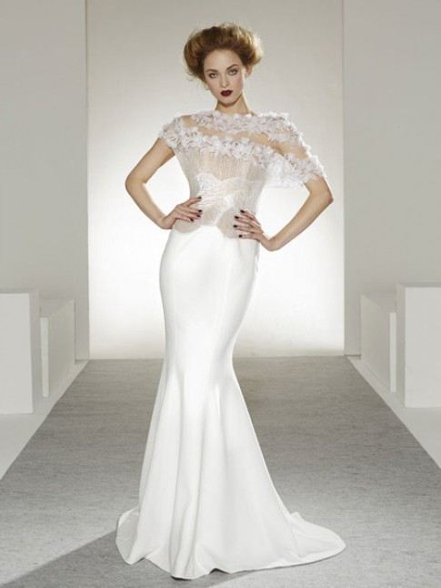 Nhung bo vay cuoi khuynh dao Haute Couture 2013 - 2104