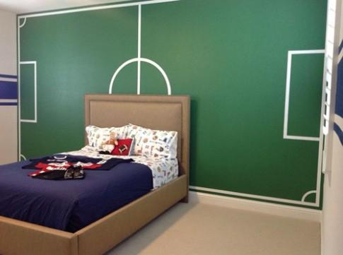 Những căn phòng cho bé yêu bóng đá