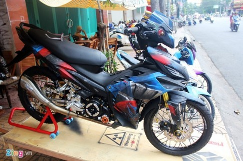 Những chiếc Yamaha Exciter độ cực kì độc đáo tại Việt Nam