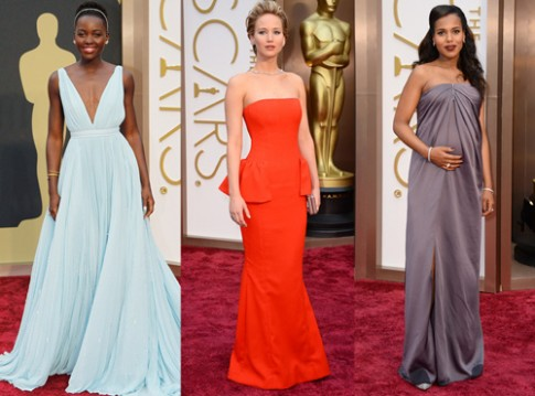 Những con số biết nói về thời trang thảm đỏ Oscar 2014
