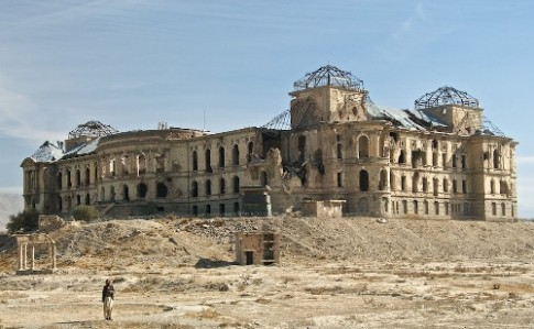 Nhung 'cung dien Versailles' o Afganistan