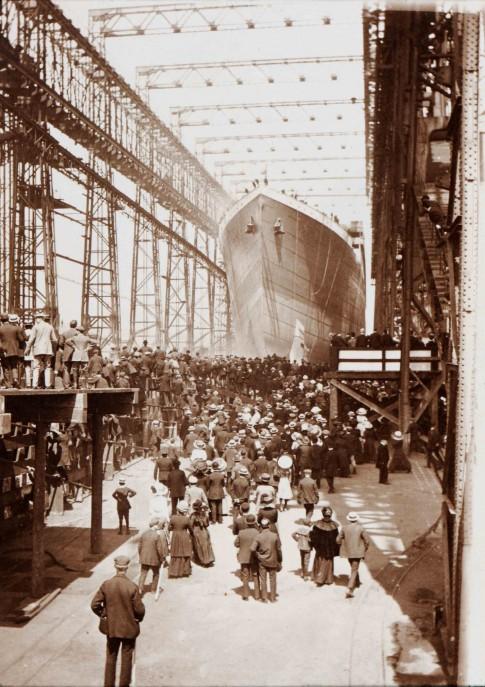 Những hình ảnh chưa từng công bố về con tàu Titanic ở Belfast