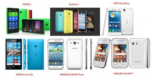 Nhung ly do nen cho Zenfone 4 hay chon NOKIA X, OPPO Find Muse, Galaxy Trend…