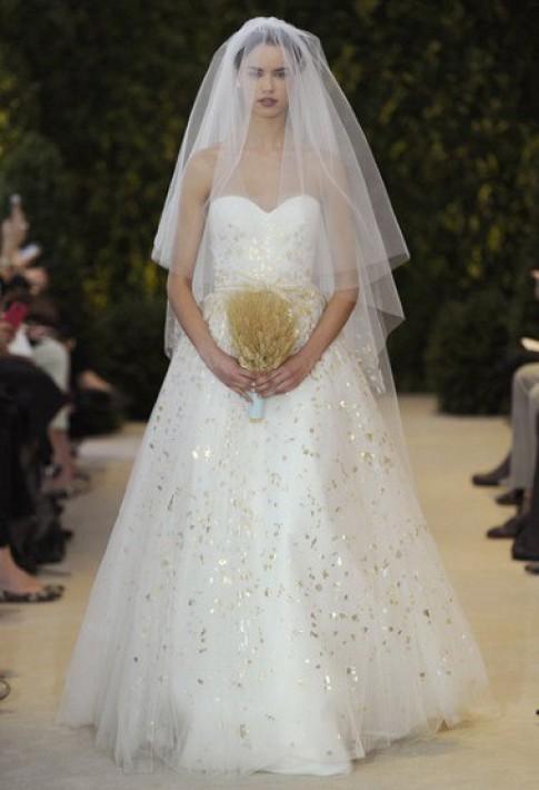 Những mẫu váy cưới đẹp nhất Xuân Hè 2014