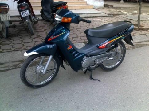Nhung mau xe Suzuki huyen thoai cua dan choi Viet