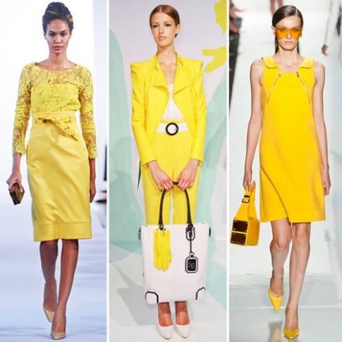 Những xu hướng màu sắc của thời trang xuân 2013
